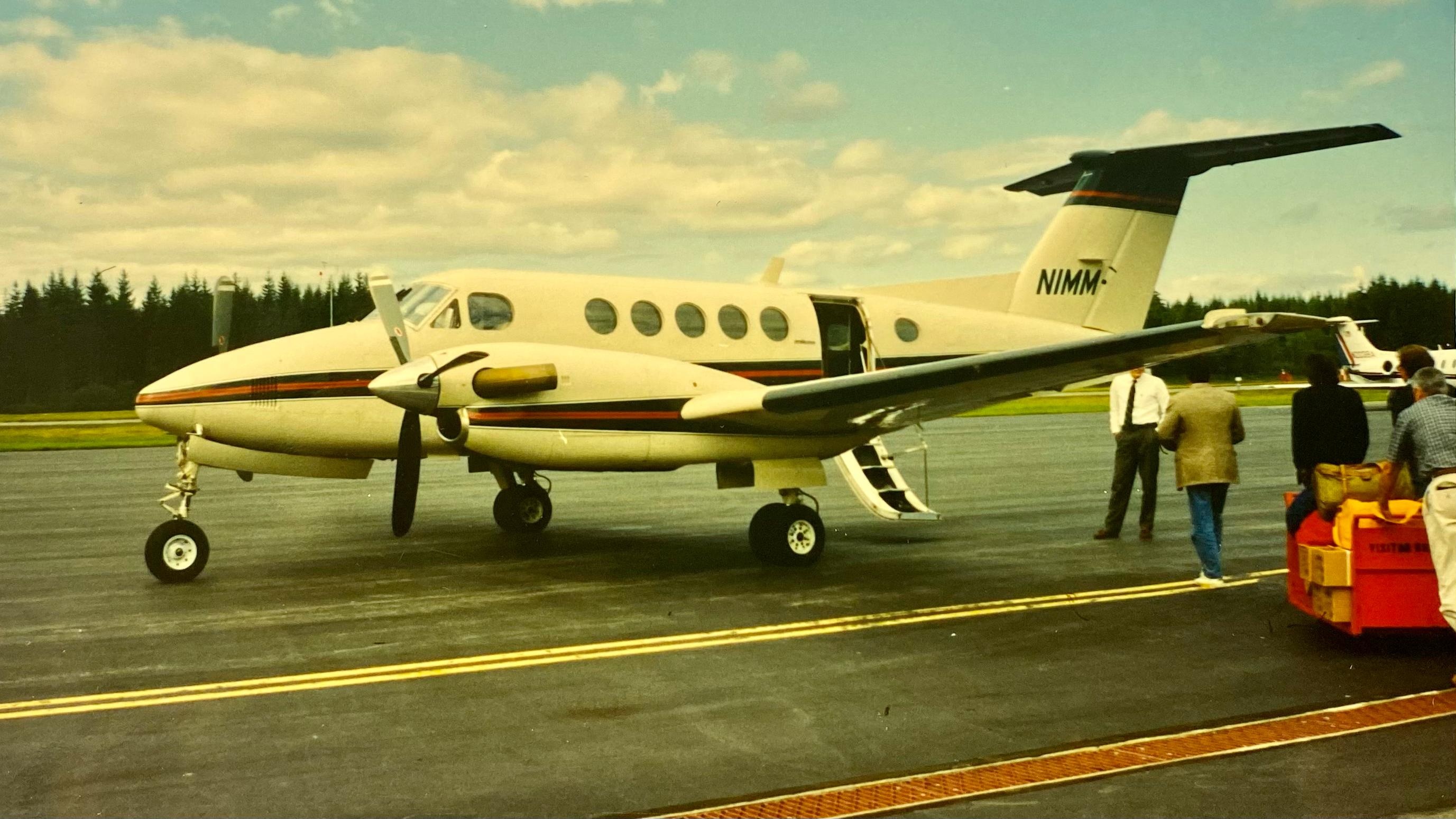 Michael Malone - N1MM King Air